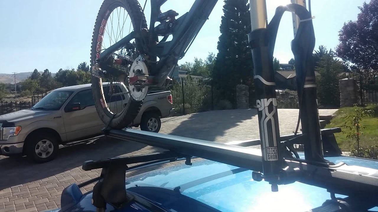 20mm Mountain Bike On K 252 At Trio Roof Rack Youtube
