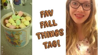 Favourite Fall Things Tag! Thumbnail