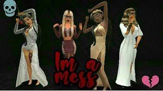 #avakinlife  Im a mess | Avakin life music video |