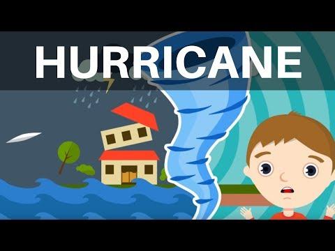 What Is A Hurricane? | Hurricane Facts For Kids