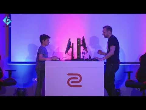 ZinG CS:GO 1v1 само с НОЖ !  GplayTV vs Fans на GplayTV Gaming Weekend