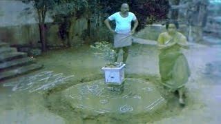 Jandhyala Comedy Scenes - Nippu Appalasamy Running Race With Beggars - Suthi Velu