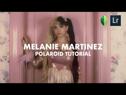 How to edit your pictures like MELANIE MARTINEZ @littlebodybigheart Polaroid look