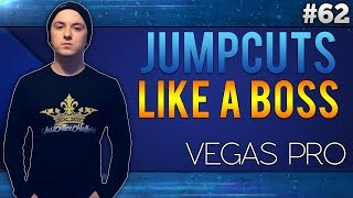Sony Vegas Pro 13: How To Use Jump Cuts Like A Boss - Tutorial #62