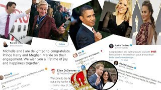 Celebrity Reactions to Prince Harry and Meghan Markle's Engagement | Celebrity Tweets