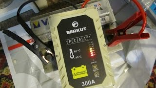 Конденсаторный пускач БЕРКУТ (BERKUT) JSC-300 ч.1 (подробный обзор)