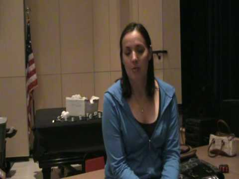Heather Burns Talks About Highland Stage's Gypsy mpeg