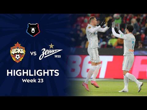 CSKA Moscow Zenit Petersburg Goals And Highlights