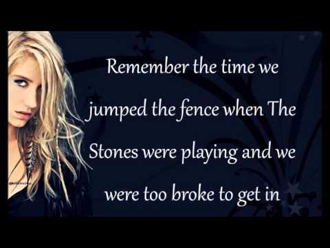 Ke$ha - The Harold Song Lyrics