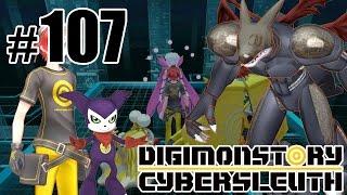 Сиделка для дигимона - Digimon Story: Cyber Sleuth - #107