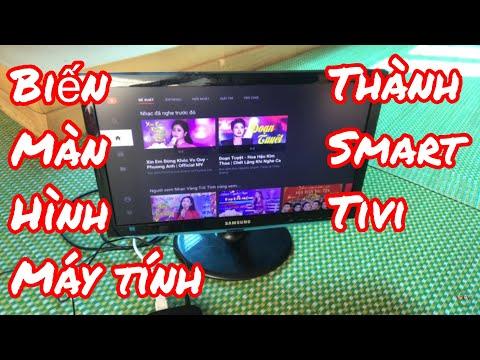 Biến Màn Hình Máy Tính Thành Smart Tivi Thông Qua Cáp Chuyển đổi HDMI Sang AGV Hiệu Quả Và Sắc Nét !