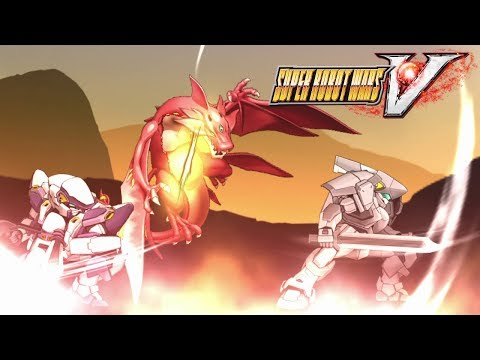 All Of The Sudden...Dragons! - Super Robot Wars V #13
