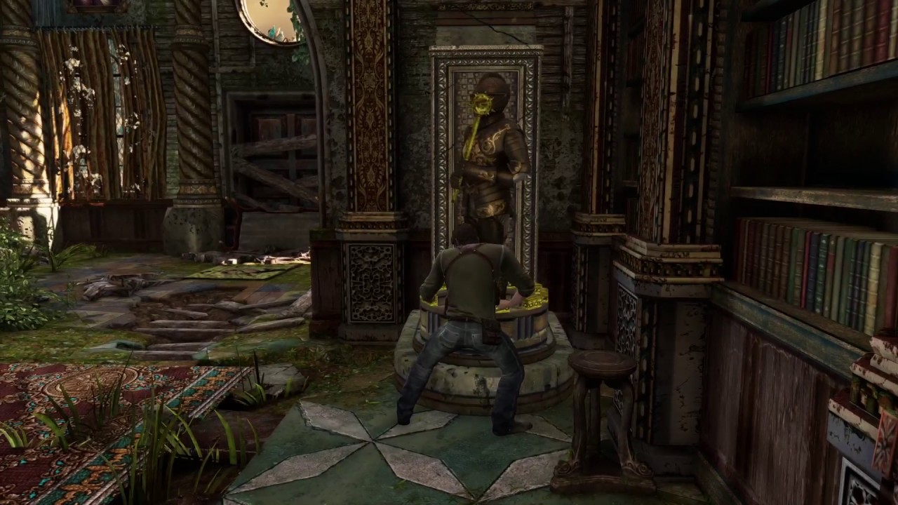 Uncharted 3 Chapter 6 Knight Statue Puzzle Youtube