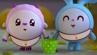 Малышарики - Пчёлки - серия 45 - обучающие мультфильмы для малышей 0-4