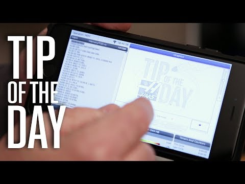 View Your Haas Control From Your Computer or Phone - Haas Automation Tip of the Day