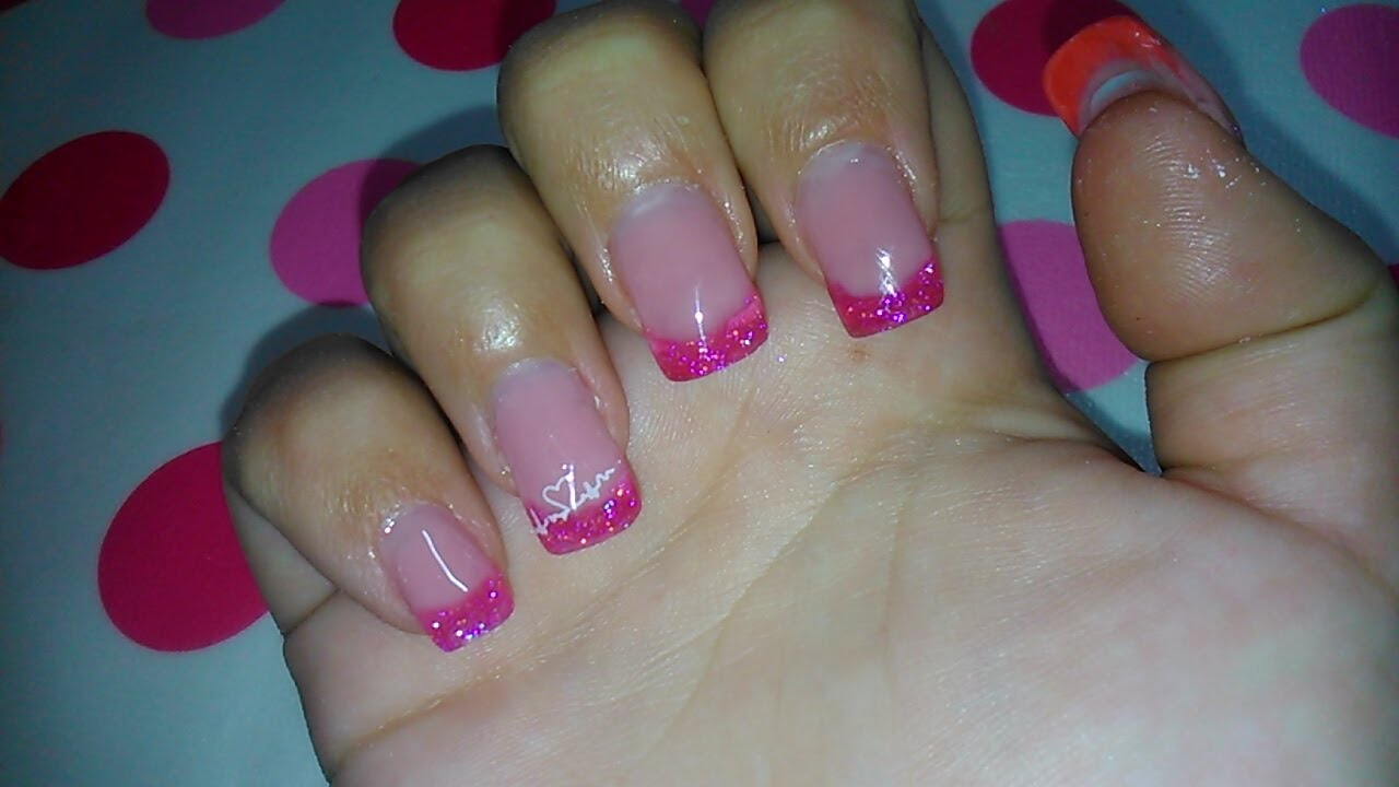 Relleno u as gel y puntas acr licas fill gel and tip - Figuras de unas en gel ...