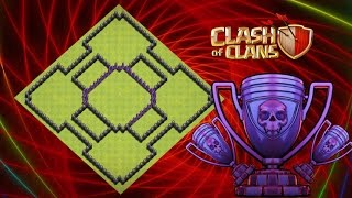 Anti Everything-Anti Gowipe Anti Goho!Best Hybrid/Farming base th8(town hall 8) Clash Of Clans(Coc)