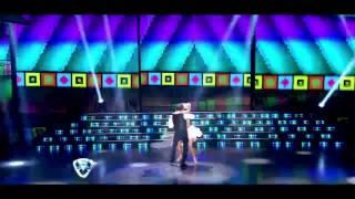 Showmatch 2014 - Pachano y Laurita Fernández le pusieron humor al merengue