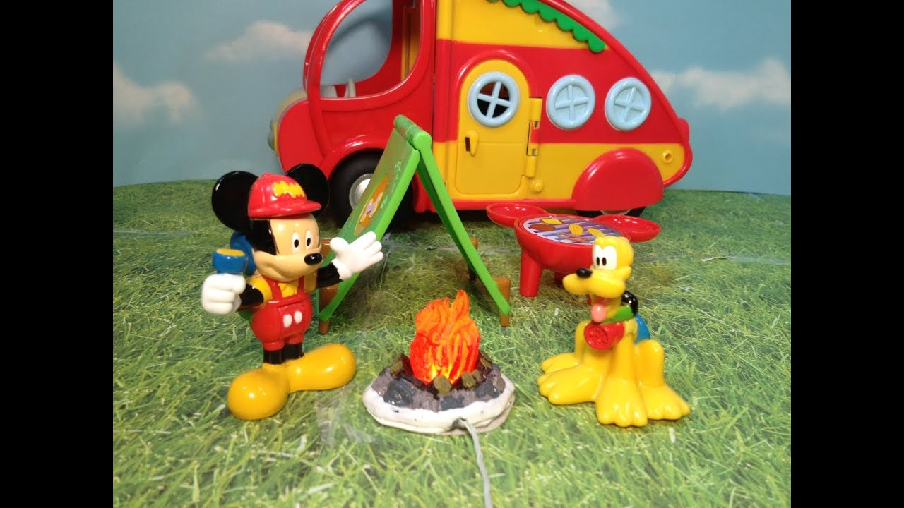 Unboxing the Mickey Mouse C&er with Donald Duck and Pluto Toys - YouTube & Unboxing the Mickey Mouse Camper with Donald Duck and Pluto Toys ...