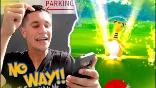 MY RAREST CATCH IN POKEMON GO HISTORY! FIRST TIME EVER FINDING THIS MON!