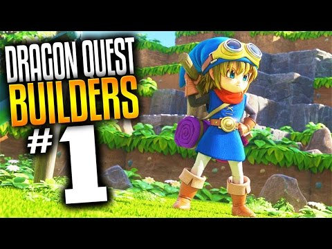 Dragon Quest Builders Gameplay - Ep 1 - Dragon Quest Minecraft (Lets Play Dragon Quest Builders