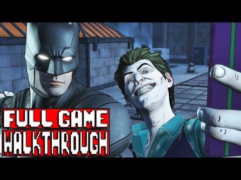 BATMAN TELLTALE SEASON 2 Episode 3 Gameplay Walkthrough Part 1 FULL GAME - No Commentary