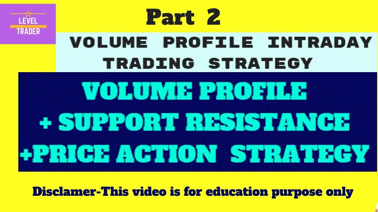 Inner Volume Profile Intraday Trading Strategy combined with PRICE ACTION  Part 2