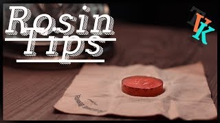 How To Use Rosin | TVK's Classroom