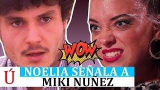 Noelia 'carga' contra Miki, su compañero en Operación Triunfo 2018, y encumbra a Famous   OT 2018
