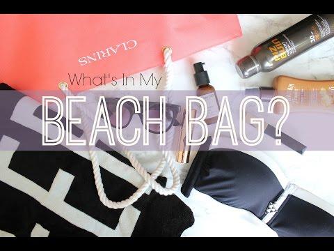 Whats in my Beach Bag?  |  Fashion Mumblr