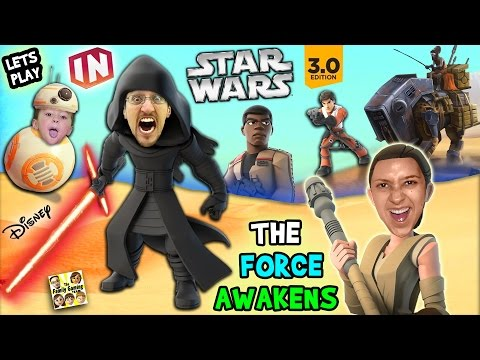 Lets Play DISNEY INFINITY 3.0 - STAR WARS: The Force Awakens