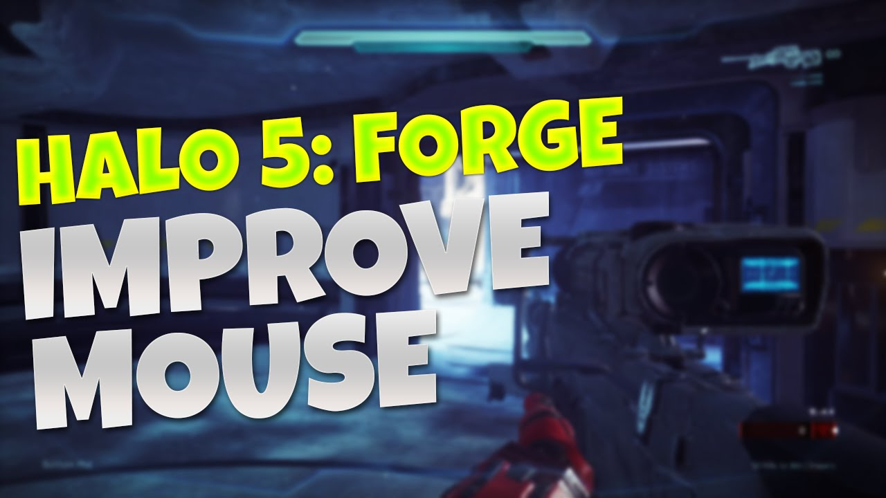 How To Fix Mouse Issues - Halo 5 Forge PC (Optimization Tips)