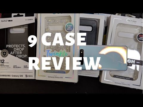 9 AWESOME Galaxy S10 Cases from $7 to $40 Reviewed