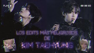 ¡Los EDITS más peligrosos de Kim Taehyung!😱