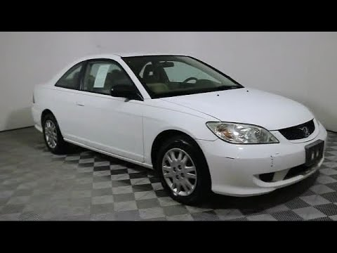 Good 2005 Honda Civic Coupe LX