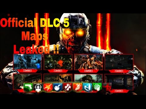 Official Leaked REMASTERED ZOMBIES MAPS DLC Reveal TRAILER - All of us remastered bo3 zombies maps