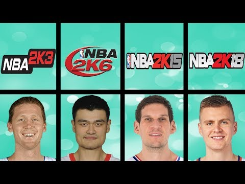 Tallest Basketball Players Ever In NBA 2K Games (NBA 2K - NBA 2K18)