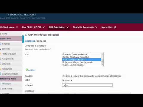 ONSO - Messages And Chat Room Tools Combined Tutorial
