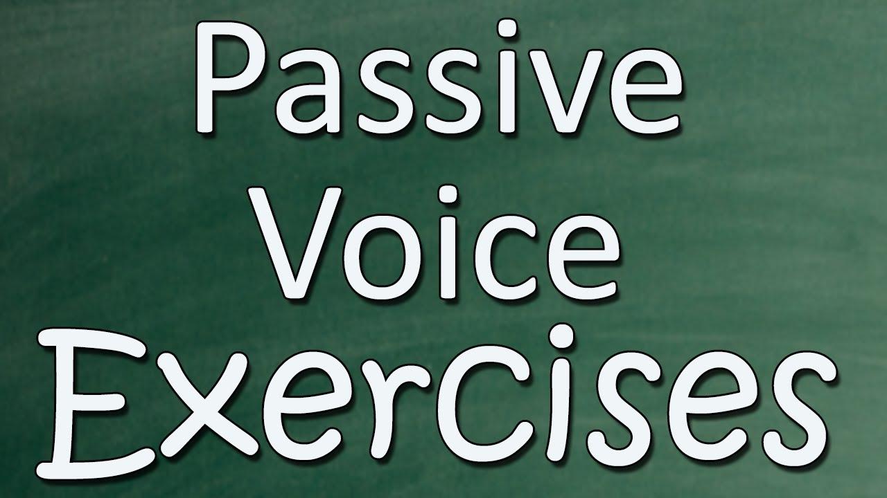Passive Voice Exercises - English Practice - YouTube [ 720 x 1280 Pixel ]