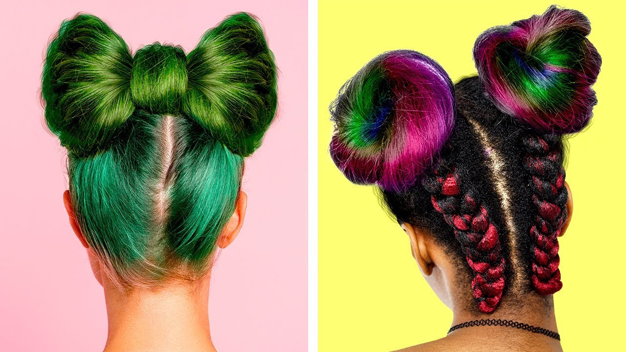 [VIDEO] - 19 IDEAS FOR YOUR BORING HAIRSTYLES 6