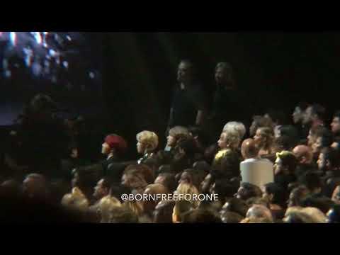171119 BTS React to P!nk & Kelly Clarkson @ AMAs