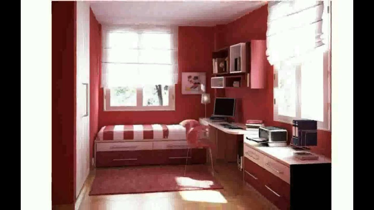 Very Small Bedroom Design Ideas - YouTube on Small Room Decoration  id=77182