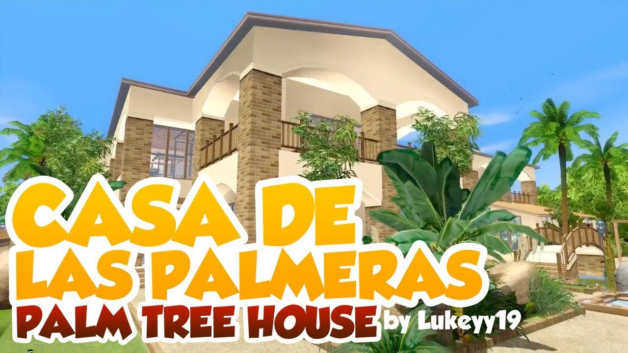 Sims 3 house building casa de las palmeras palm tree - La casa de las palmeras ...