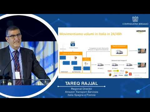 Tareq Rajjal - Regional Director Amazon Transport Services Italia Spagna e Francia