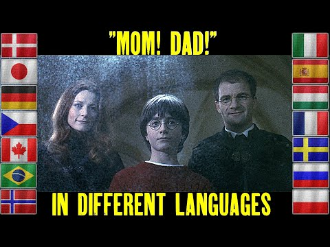 """""""mom!-dad!""""-(in-different-languages)-harry-potter-and-mirror-of-erised.-lily-and-james-potter."""