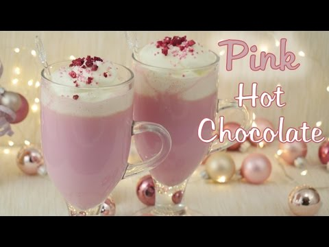 Pink Hot Chocolate I Heiße Schokolade mal anders