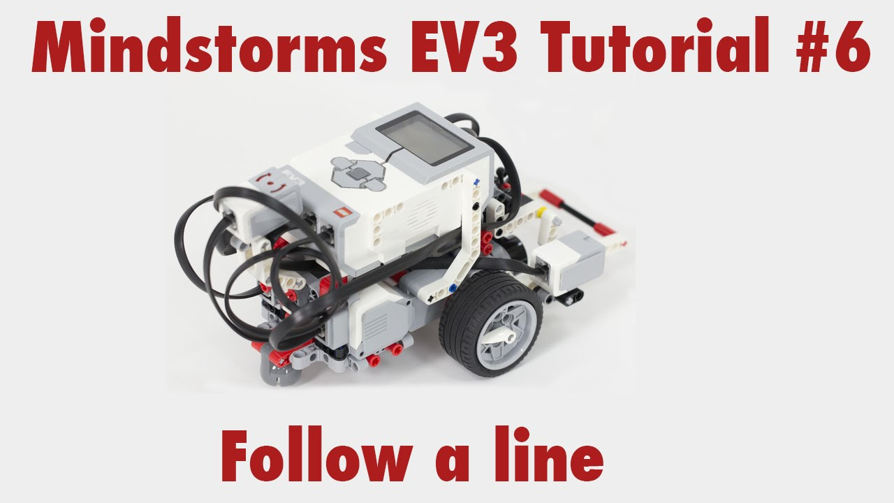 Mindstorms Ev3 Tutorial 6 Use The Color Sensor To Follow A Line Yellow Section Determining Light Systems Is Colours Youtube