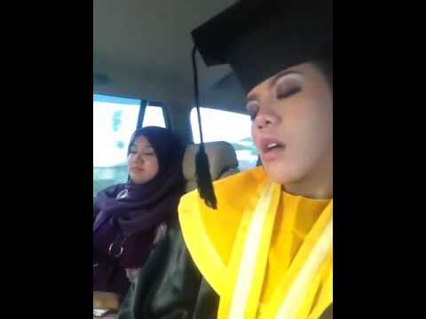 HOT GRADUATION GIRL FALL ASLEEP