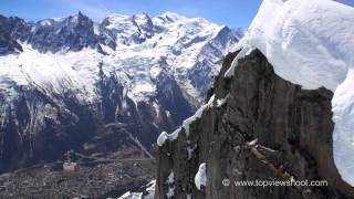 The World's some Highest Mountain Peaks - by Helicopter 2014 - HD 720p