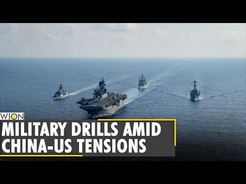china-to-conduct-military-drills-in-south-china-sea-|-us-sent-carries-to-disputed-sea-|-world-news
